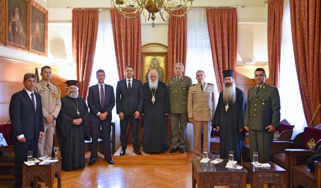 Министар Вулин с архиепископом Грчким Косово и Метохија су српски Акропољ
