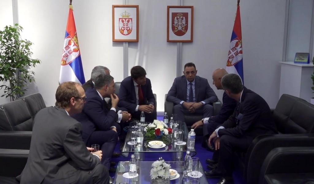 Sastanak ministra Vulina sa direktorom kompanije Erbas