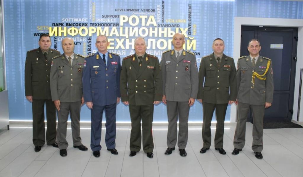 Делегација Универзитета одбране у Белорусији