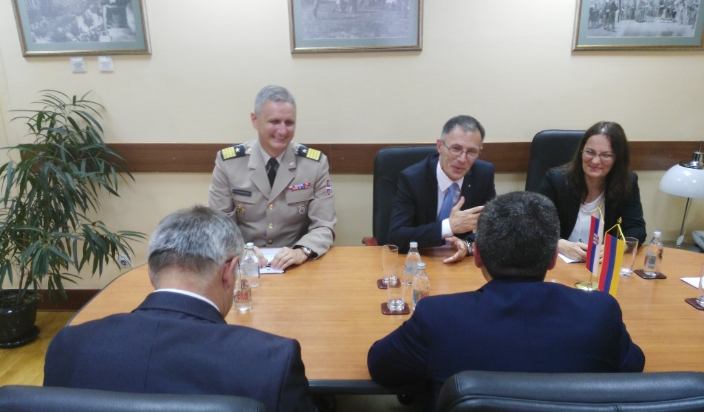 Интензивирање сарадње са Јерменијом