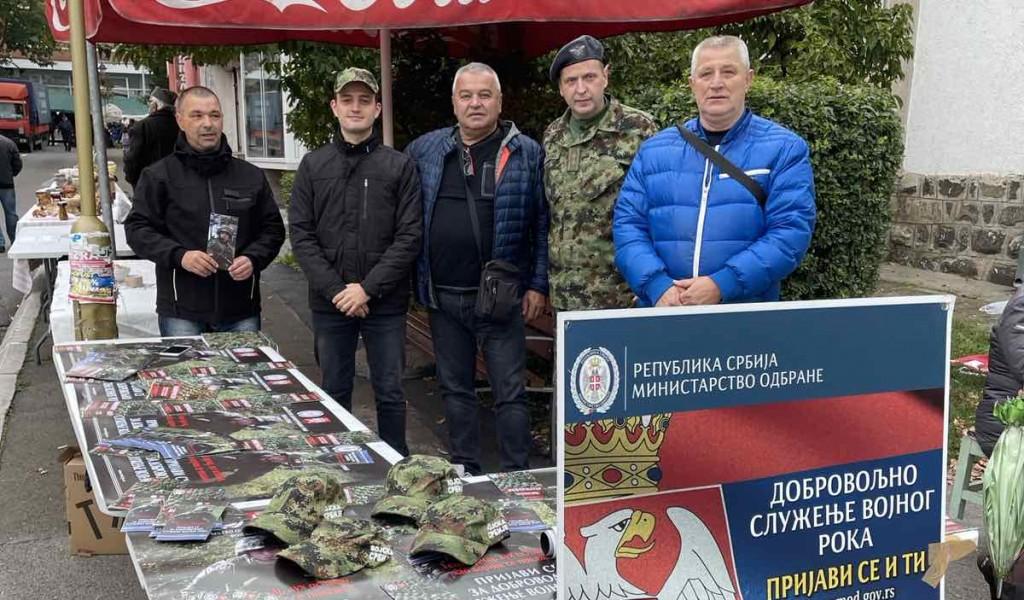 Promocije dobrovoljnog služenja vojnog roka u centrima Ministarstva odbrane