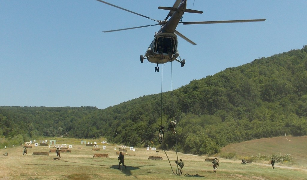 Joint exercise of Special Forces of Serbia and Greece