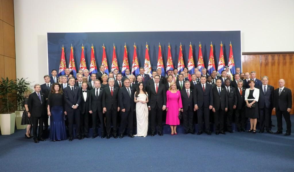 Svečanost povodom inauguracije Aleksandra Vučića za predsednika Srbije