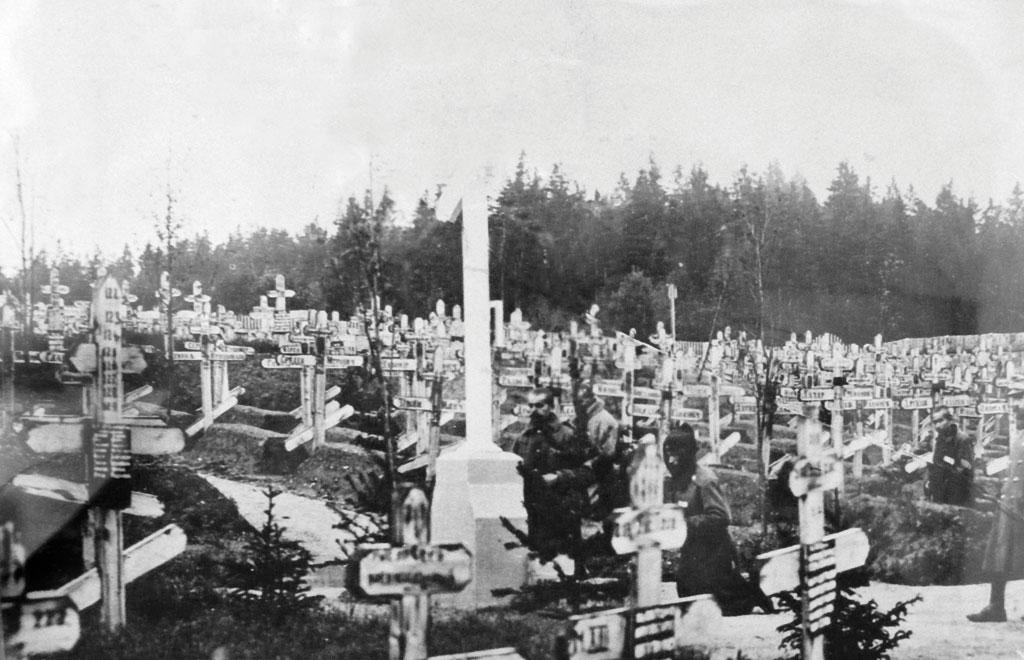 Serbian military cemetery in the Czech Republic