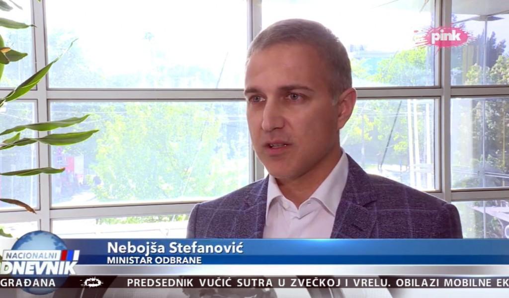 Министар Стефановић: Војска Србије наставиће да гради мир и чува регионалну стабилност