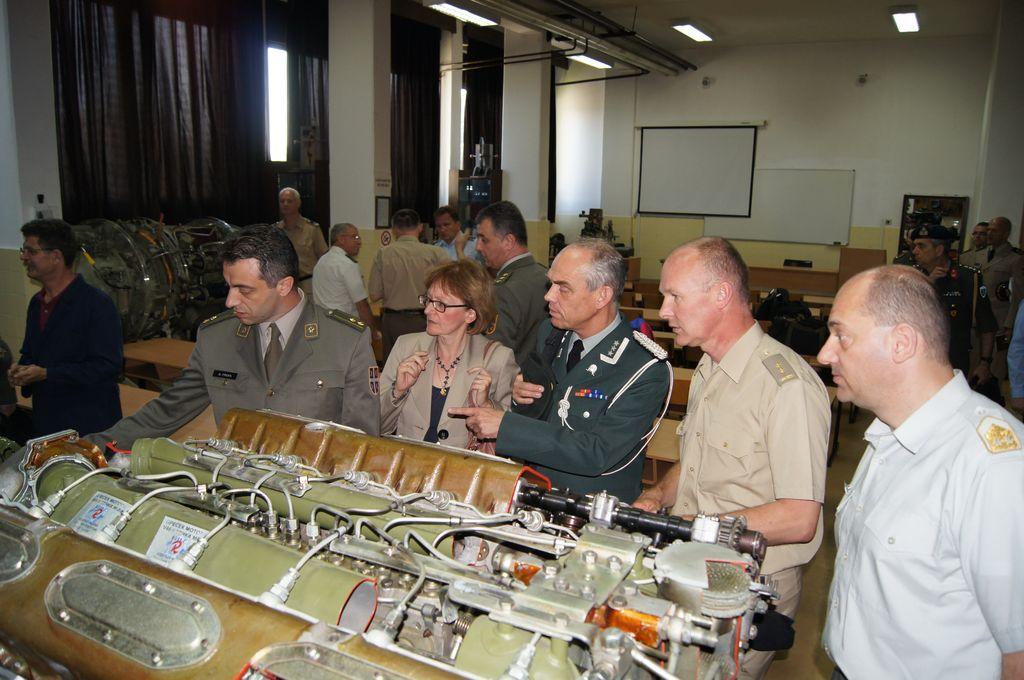 Страни војни представници у Војној академији