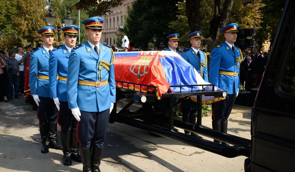 Похрањени посмртни остаци генерала Стратимировића