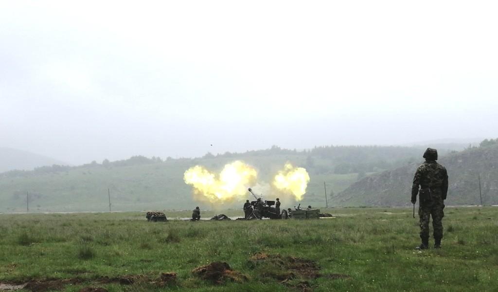 Vežba Mešovite artiljerijske brigade Vatreni skok 2019