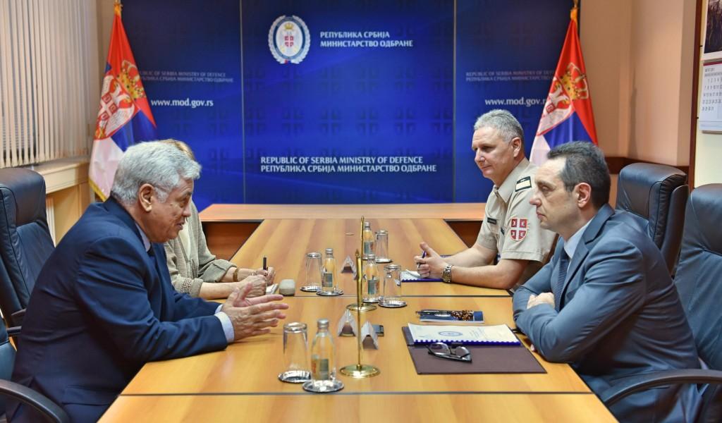 Jačanje strateške saradnje sa Alžirom