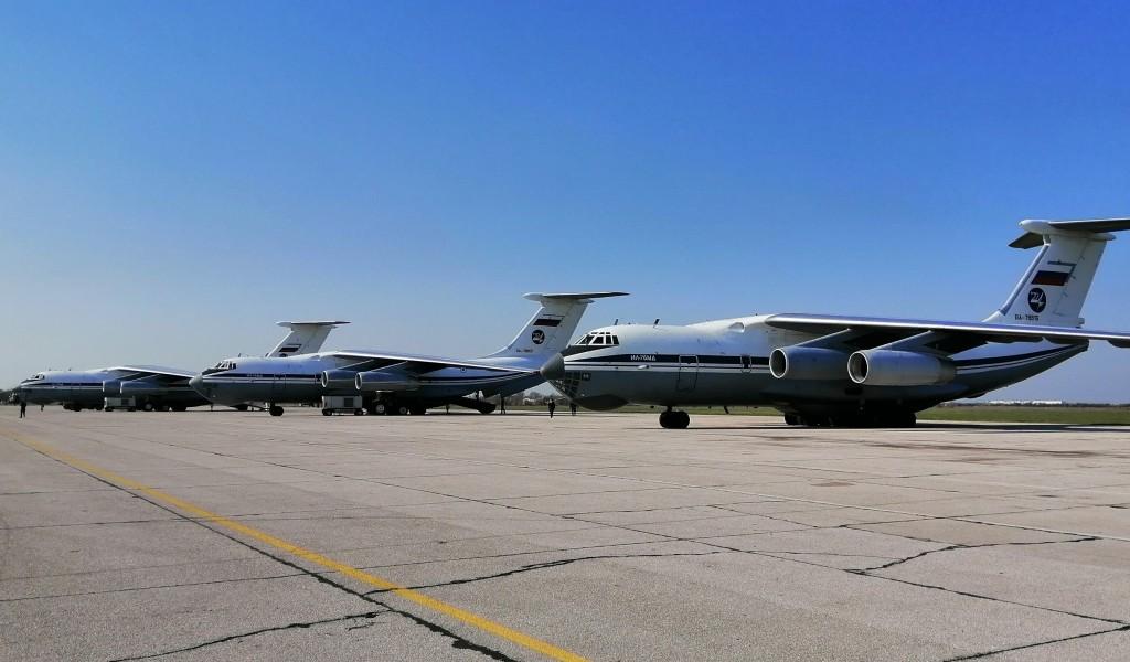 Једанаест авиона допремило медицинску помоћ из Руске Федерације