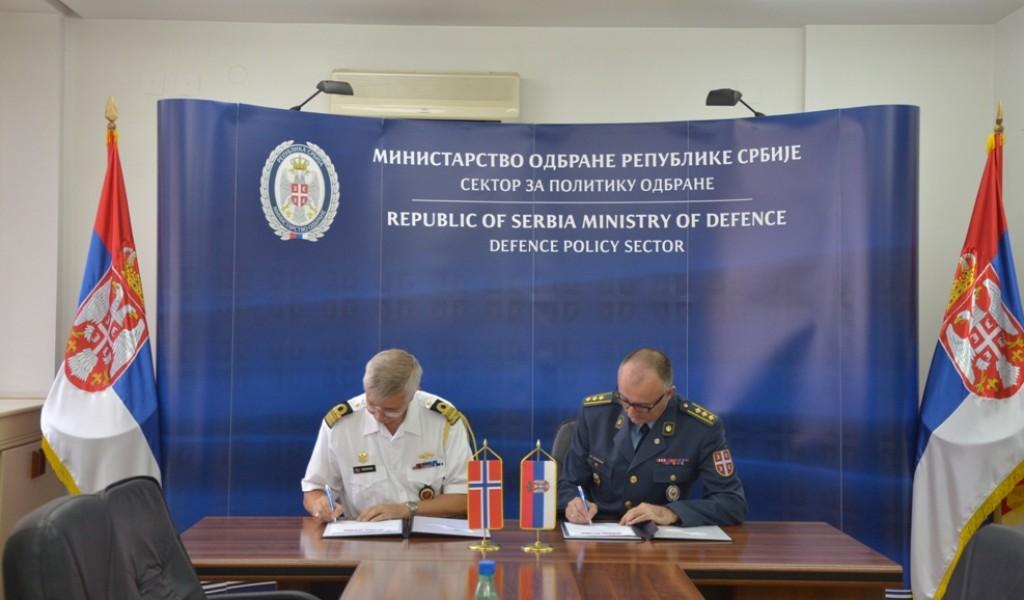 Потписан План билатералне војне сарадње са Краљевином Норвешком