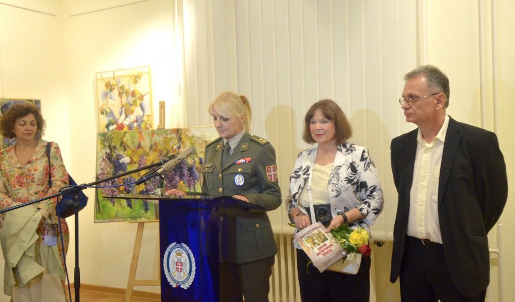 Отворена изложба слика Слободанке Ракић Шефер