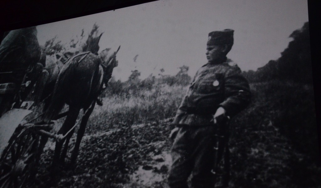 First Showing of a Documentary Film Momčilo