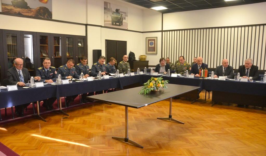 Poseta delegacije beloruskog Državnog vojno industrijskog komiteta