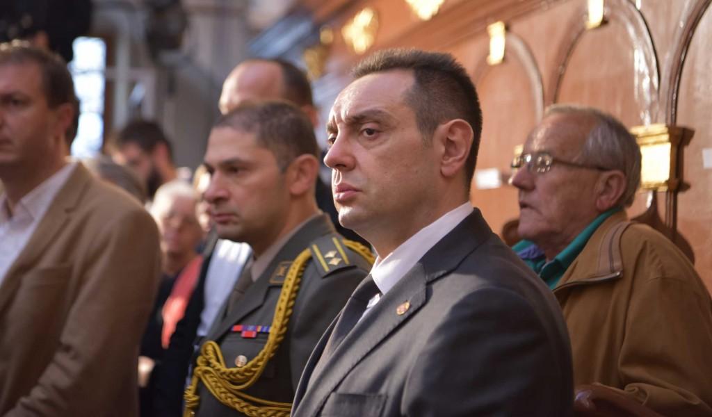 Министар Вулин на устоличењу епископа далматинског