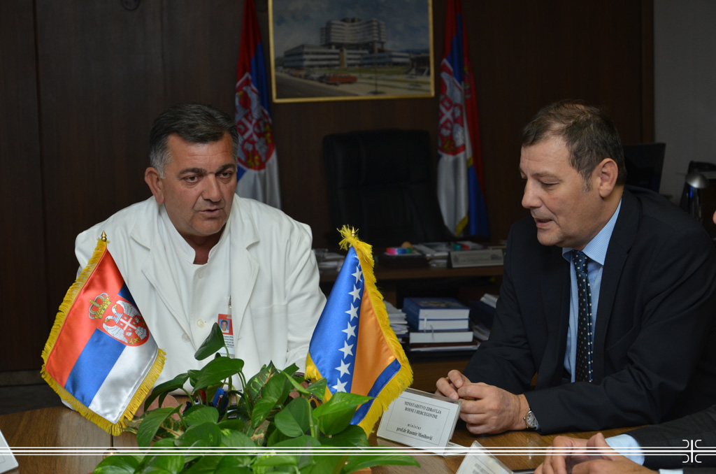 Minister of Health of Bosnia and Herzegovina Visited MMA