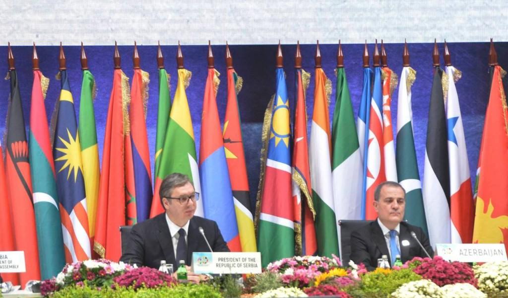 President Vučić Opened the Non Aligned Movement Summit