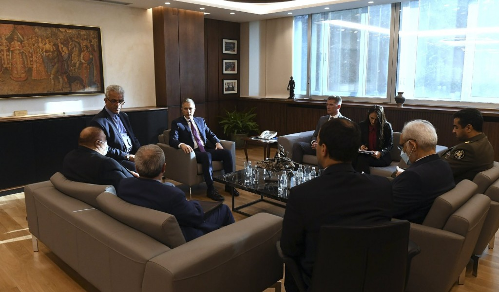 Састанак министра Стефановића са замеником министра спољних послова Ирана