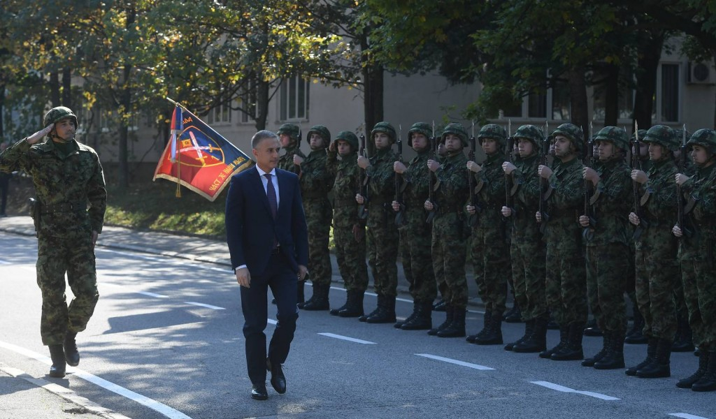 Minister Stefanović Attended Celebration of the Day of National Defence School