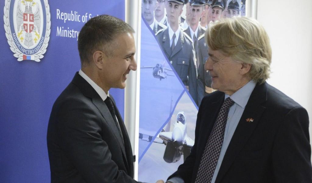 Састанак министра Стефановића са норвешком делегацијом