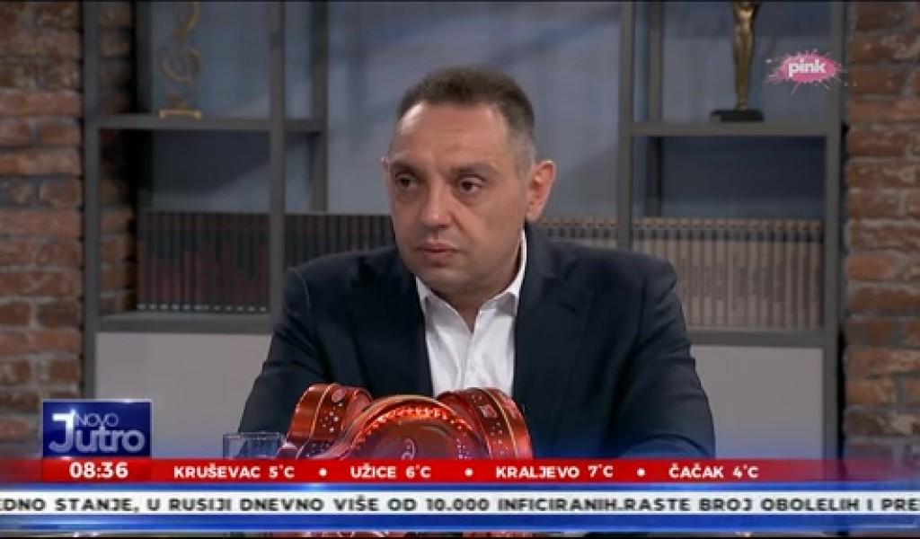 Министар Вулин Захваљујући врховном команданту Трећи ракетни дивизион за ПВД поново је добио своје име и место у Војсци Србије