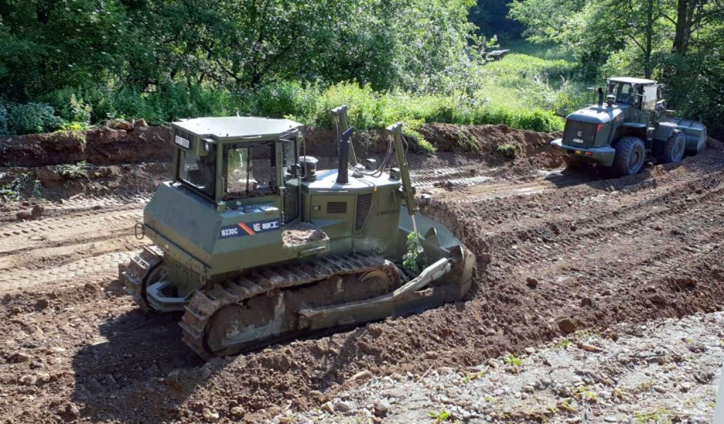 Help of the Serbian Armed Forces to Municipalities Afflicted by Floods