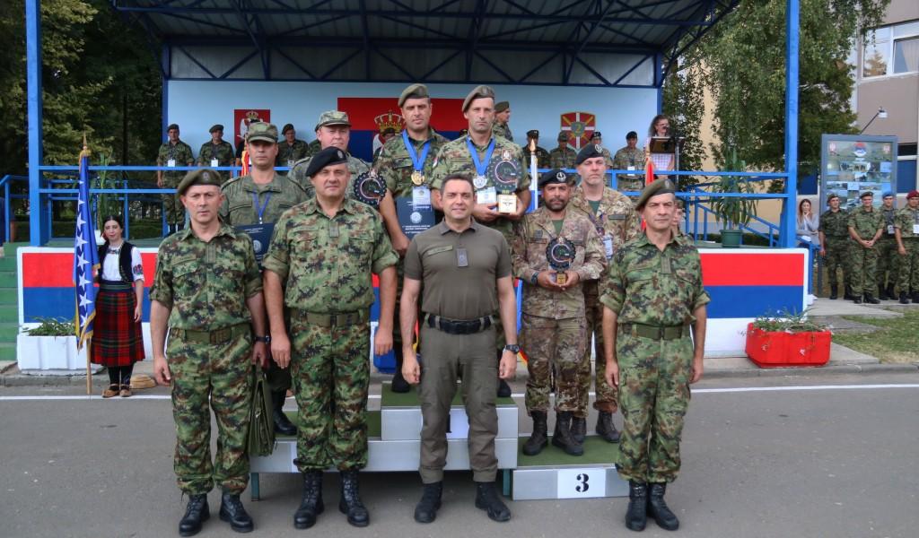 Vozači Vojske Srbije pobednici drugog Međunarodnog takmičenja vojnih vozača
