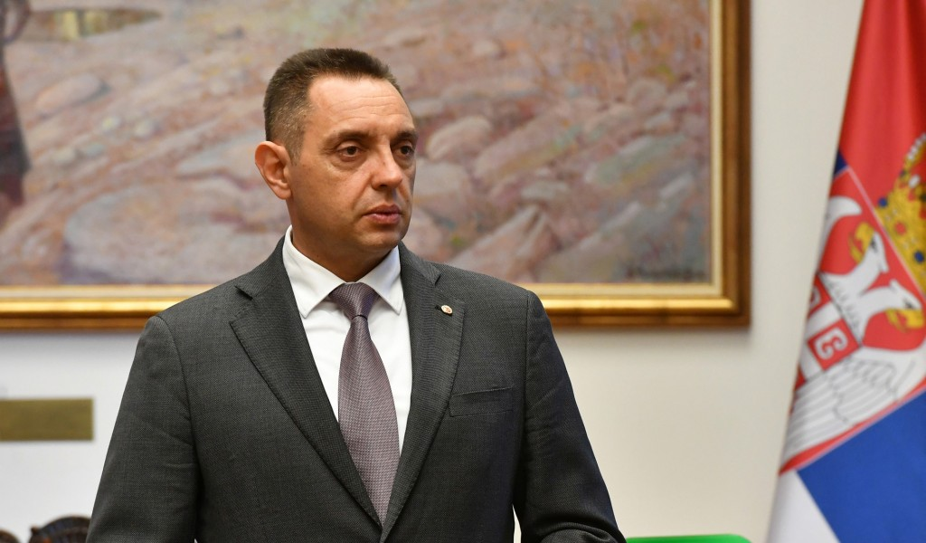 Minister Vulin Serbia must respond to force with the force of law