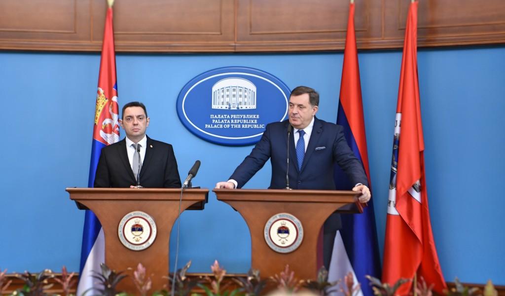 Bosnu i Hercegovinu iskreno poštujemo a Republiku Srpsku iskreno volimo