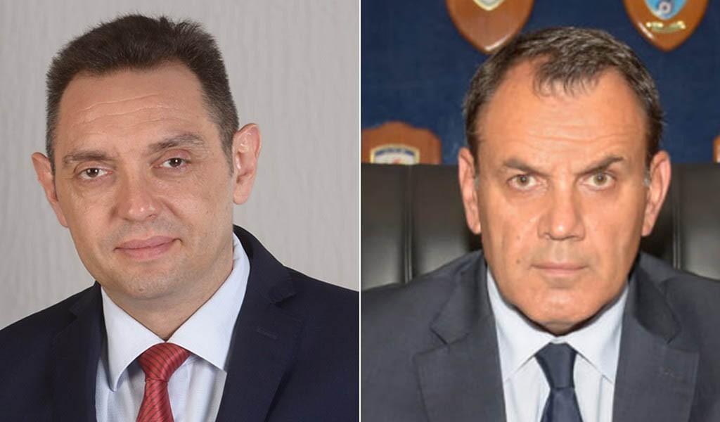 Телефонски разговор министра Вулина са грчким министром одбране Панагиотопулосом