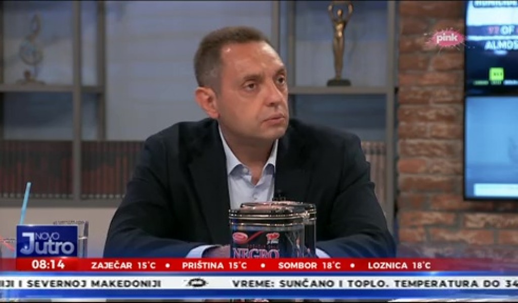 Министар Вулин Опремамо војску новим домаћим наоружањем и опремом јер је ОИС од распада спасио Вучић 2012 године