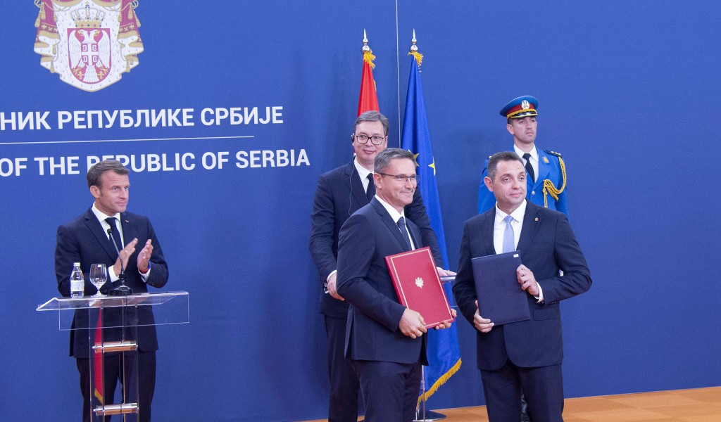 Potpisani sporazumi u oblasti odbrane sa predstavnicima Francuske