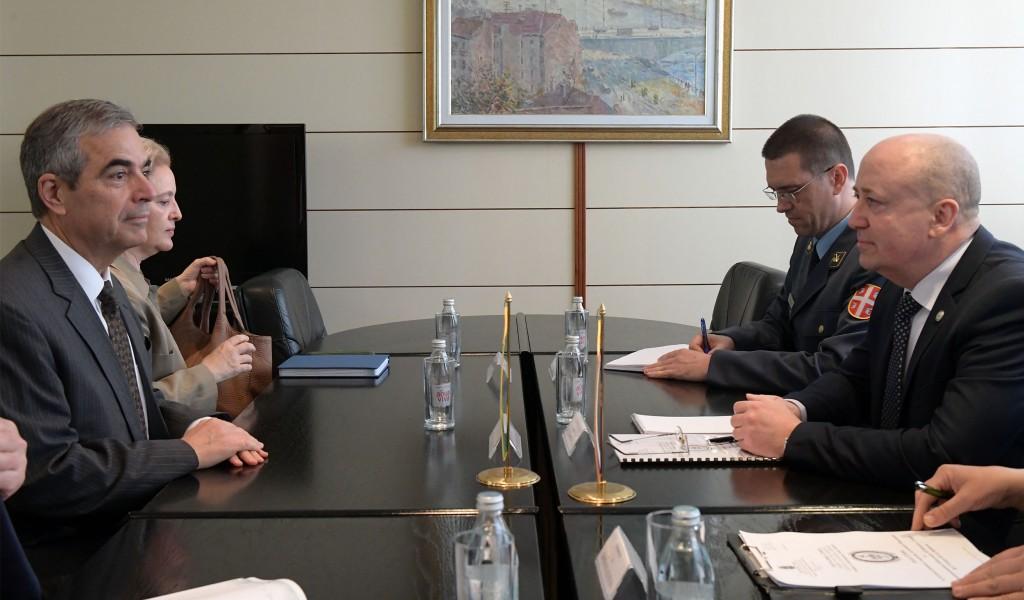 Sastanak državnog sekretara Živkovića sa novoimenovanim ambasadorom Brazila