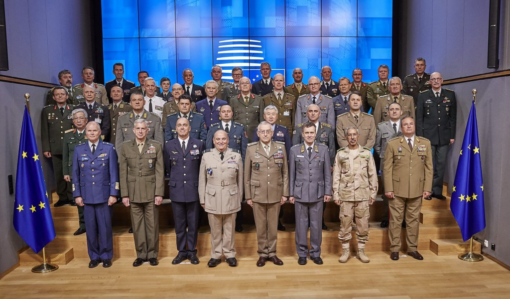 Participation in European Union Military Committee meeting