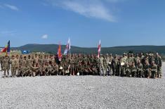 Учешће Војске Србије на међународној вежби у Бугарској