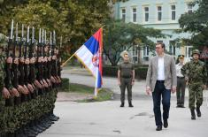 President Vučić: Serbian Armed Forces is stronger than ever and it will be even stronger