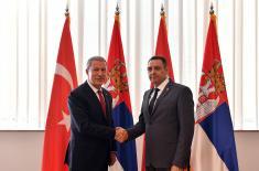 Састанак министара одбране Србије и Турске