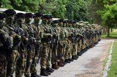 Министар одбране обишао задејствоване снаге Војске Србије