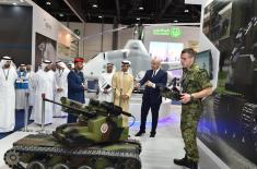 Serbian Defence Industry at Exhibition UMEX 2018