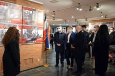 "Exhibition ""War Image of Serbia in Second World War, 1941–1945"" opened in Memorial Museum in Kragujevac"