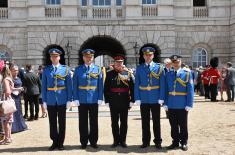 Посета делегације Гарде Војске Србије Уједињеном Краљевству