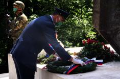 Laying of wreaths on the occasion of Victory Day over fascism