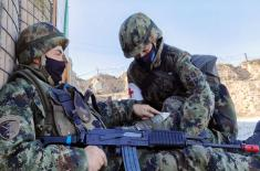 Force protection platoon to be deployed in UNIFIL undergoes training
