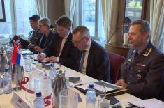 Министар Вулин: Србија и Норвешка настављају сарадњу у области војне медицине