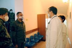 Министар Вулин: Војно здравство јаче за нових 195 припадника