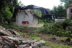 По наређењу врховног команданта Војске Србије Александра Вучића почели радови на изградњи Ковид болнице у Крушевцу