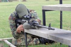 Visit to the sniper team of the Serbian Armed Forces in preparation for the International Army Games