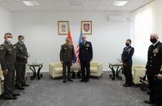 Посета команданта америчке Команде за специјалне операције у Европи