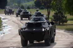 Војска Србије јача за 30 тенкова Т-72МС и 30 оклопно-извиђачких аутомобила БРДМ-2МС