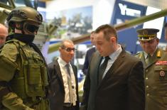 Minister Vulin: Great interest in the products of Serbian defence industry